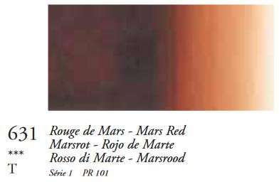 Marsrood (Serie 1) Oil Stick van Sennelier 38 ML Kleur 631