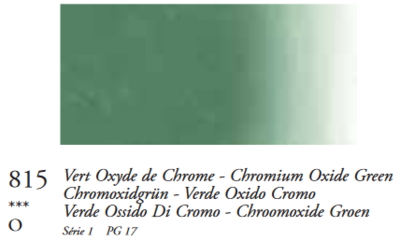 Chroomoxydegroen (Serie 1) Oil Stick van Sennelier 38 ML Kleur 815