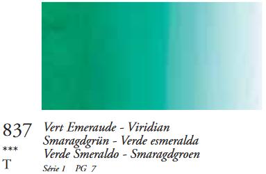 Smaragdgroen (Serie 1) Oil Stick van Sennelier 38 ML Kleur 837