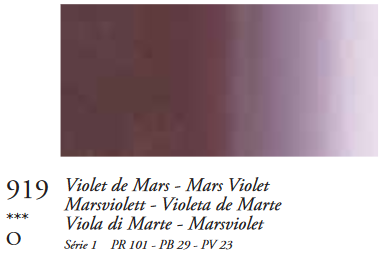 Marsviolet (Serie 1) Oil Stick van Sennelier 38 ML Kleur 919