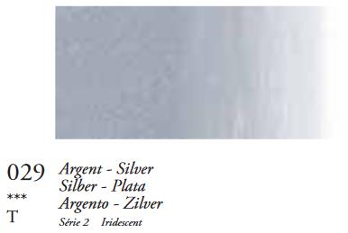 Zilver (Serie 2) Oil Stick van Sennelier 38 ML Kleur 029
