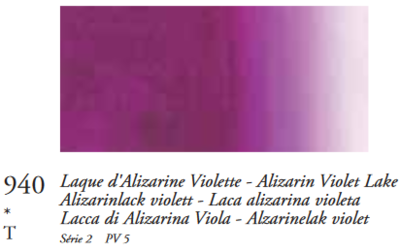 Alizarienlak Violet (Serie 2) Oil Stick van Sennelier 38 ML Kleur 940
