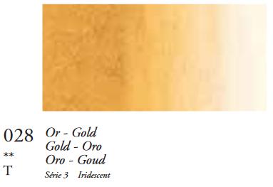 Goud (Serie 3) Oil Stick van Sennelier 38 ML Kleur 028