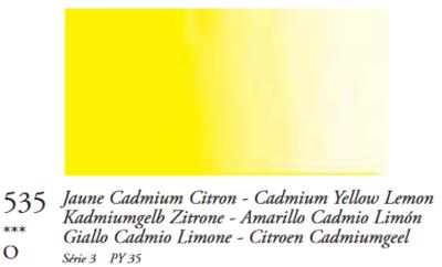 Cadmiumgeel Citroen (Serie 3) Oil Stick van Sennelier 38 ML Kleur 535