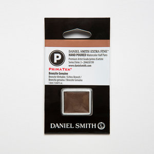 Bronzite Genuine (S3) Daniel Smith Half pans Aquarelverf / Watercolour Kleur 199