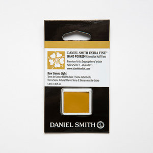Raw Sienna Light (S1) Daniel Smith Half pans Aquarelverf / Watercolour Kleur 233