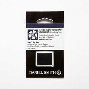 Payne's Blue Gray (S1) Daniel Smith Half pans Aquarelverf / Watercolour Kleur 235