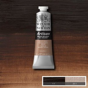Burnt Umber (S1) Artisan Watervermengbare olieverf 37 ml Kleur 076