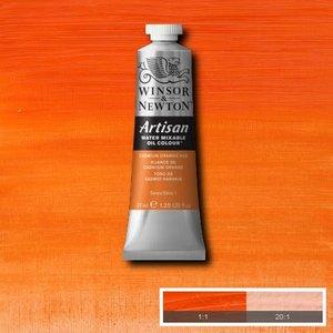 Cadmium Orange Hue (S1) Artisan Watervermengbare olieverf 37 ml Kleur 090