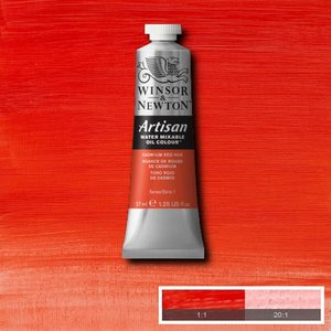 Cadmium Red Hue (S1) Artisan Watervermengbare olieverf 37 ml Kleur 095