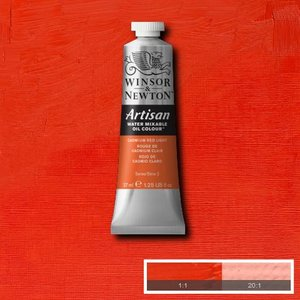 Cadmium Red Light (S2) Artisan Watervermengbare olieverf 37 ml Kleur 100