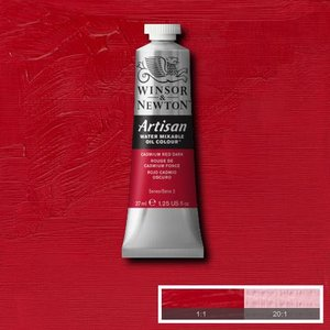 Cadmium Red Dark (S2) Artisan Watervermengbare olieverf 37 ml Kleur 104