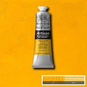 Cadmium Yellow Medium (S2) Artisan Watervermengbare olieverf 37 ml Kleur 116