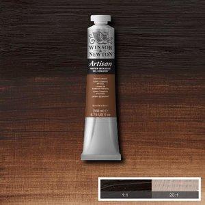 Burnt Umber (S1) Artisan Watervermengbare olieverf 200 ml Kleur 076