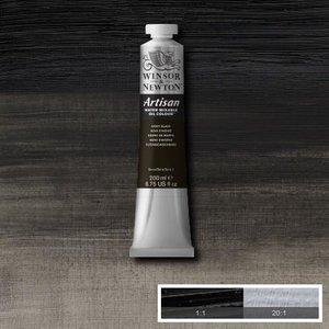 Ivory Black (S1) Artisan Watervermengbare olieverf 200 ml Kleur 331