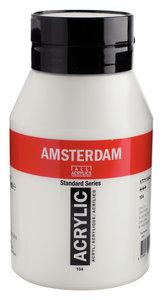 Zinkwit Amsterdam  Standard Series  Acrylverf (1 liter) 1000 ML Kleur 104