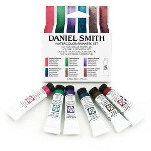 Primatek Introductie set  Aquarelverf Daniel Smith (Extra fine Watercolour) 6 x 5 ml tubes