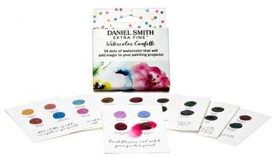 Watercolor Confetti Watercolor Dot Card Set  Aquarelverf Daniel Smith (Extra fine Watercolour) 36 Dots