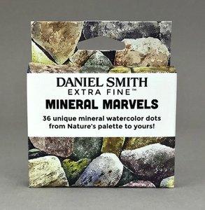 Mineral Marvels Watercolor Dot Card Set  Aquarelverf Daniel Smith (Extra fine Watercolour) 36 Dots