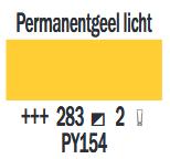 Permanentgeel Licht Cobra Artist watermengbare olieverf 150 ML (S 2) Kleur 283