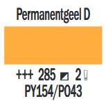 Permanentgeel Donker Cobra Artist watermengbare olieverf 150 ML (S 2) Kleur 285