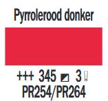 Pyrrolerood Donker Cobra Artist watermengbare olieverf 150 ML (S 3) Kleur 345