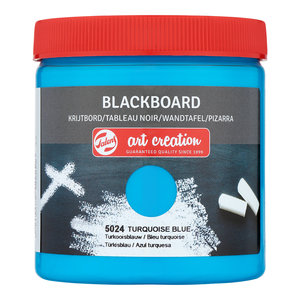 Turkooisblauw  Art Creation Krijtbord 250 ML Kleur 5024
