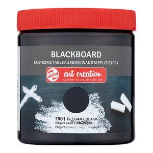 Elegant zwart  Art Creation Krijtbord 250 ML Kleur 7001