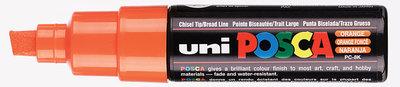 (Dark) Orange Schuin afgeslepen punt Posca Acrylverf Marker PC8K Kleur 4