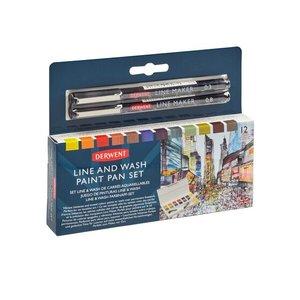 Derwent Line and Wash Paint Set