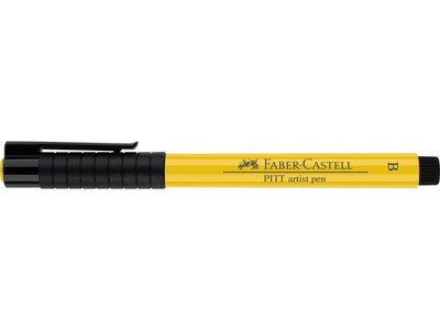 Pitt Artist Pen Brush Faber Castell Tekenstift Cadmiumgeel *** (Brush)  Kleur 107