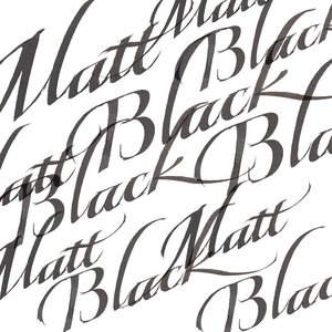 Mat Black Calligraphy Ink van Winsor & Newton 30 ML Kleur 030