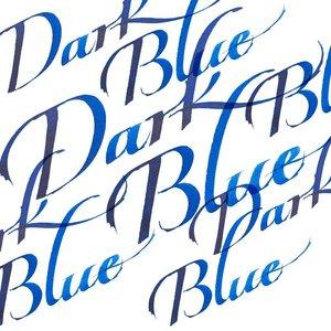 Dark Blue Calligraphy Ink van Winsor & Newton 30 ML Kleur 222
