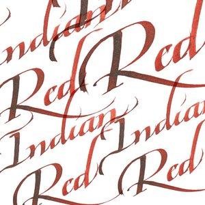 Indian Red Calligraphy Ink van Winsor & Newton 30 ML Kleur 317