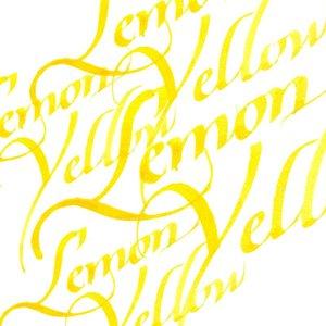 Lemon Yellow Calligraphy Ink van Winsor & Newton 30 ML Kleur 345