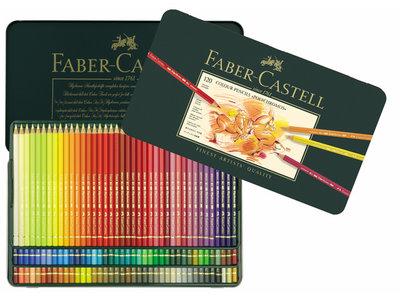 Polychromos Blik met 120 Kleurpotloden Faber Castell