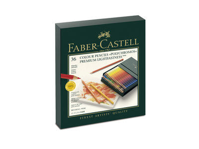 Polychromos Studiobox met 36 Kleurpotloden Faber Castell