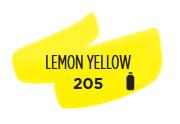 Ecoline 30 ML Pipetfles Citroengeel Kleur 205