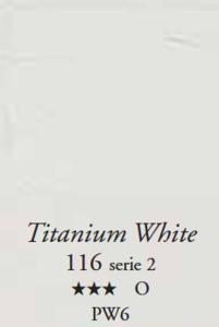 Egg Tempera Titaanwit Sennelier 21 ML Serie 2 Kleur 116