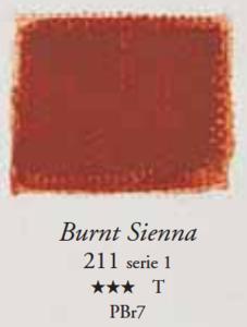 Egg Tempera Sienna Gebrand Sennelier 21 ML Serie 1 Kleur 211