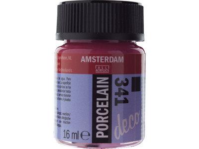 Amsterdam Deco Porselein Fuchsia Dekkend 16 ML Kleur 341