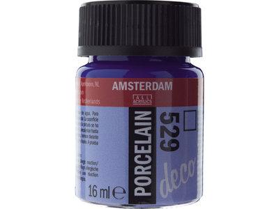 Amsterdam Deco Porselein Mediterraanblauw 16 ML Kleur 529