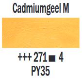 Cadmiumgeel Middel  Rembrandt Olieverf Royal Talens 40 ML (Serie 4) Kleur 271