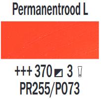 Permanentrood Licht  Rembrandt Olieverf Royal Talens 40 ML (Serie 3) Kleur 370