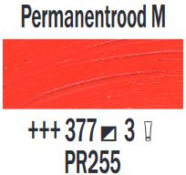 Permanentrood Middel  Rembrandt Olieverf Royal Talens 40 ML (Serie 3) Kleur 377