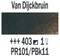Van Dijckbruin  Rembrandt Olieverf Royal Talens 40 ML (Serie 1) Kleur 403
