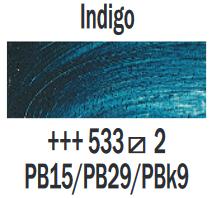 Indigo  Rembrandt Olieverf Royal Talens 40 ML (Serie 2) Kleur 533