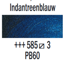 Indantreenblauw  Rembrandt Olieverf Royal Talens 40 ML (Serie 3) Kleur 585