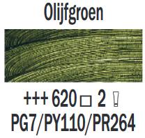 Olijfgroen  Rembrandt Olieverf Royal Talens 40 ML (Serie 2) Kleur 620