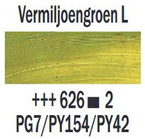 Vermiljoengroen Licht  Rembrandt Olieverf Royal Talens 40 ML (Serie 2) Kleur 626